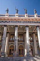 Theatro Juarez, built between 1873 and 1903, Guanajuato city, Guanajuato, Mexico, North America