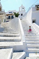 Girl in Naxos, Cyclades Islands, Greece