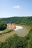 Germany, Bavaria, monastic Weltenburg