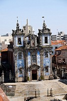 Church of Santo Ildefonso, Porto, Portugal