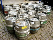 English beer kegs