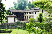 Tujia traditional architecture with strong western influence in Li Family Mansion, Dashuijing Village, Lichuan, Enshi Tujia and Miao Autonomous Prefec...