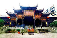 Yu Wang Place in Huguang Guild Hall Scenic Area, Chongqing, China