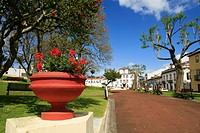 Antero de Quental park, in the city of Ponta Delgada, Azores islands, Portugal