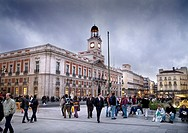 Puerta del Sol  Comunidad de Madrid's building  Madrid  Spain