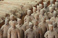 Terra Cotta Warriors in Xi'an China