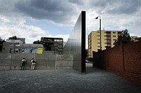 Berlin  Germany  Berlin Wall Memorial on Bernauer Strasse forms part of the Berlin Wall History Mile