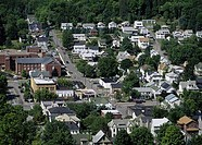 Buildings in a town, Honesdale, Wayne County, Pennsylvania, USA