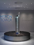 HERON TOWER MARKETING SUITE,UNITED KINGDOM, Architect LONDON