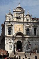 Italy, Venice, Scuola Grande di San Marco