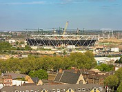 2012 OLYMPIC STADIUM LONDON POPULOUS ARCHITECTS 2009 GENERAL VIEW