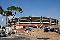 Soccer Stadium San Paolo, or Stadium of the Sun, Naples, SSC Napoli, Fuorigrotta, Campania, Italy, Europe