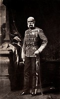 Kaiser Franz Joseph I, historic photograph, around 1900