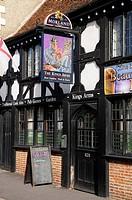 The Kings Arms Pub, a traditional English ale house, England, United Kingdom, Europe