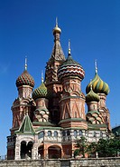 St. Basil´s Cathedral, Russia, Moscow