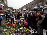 Columbia Road flower market, London, England, UK