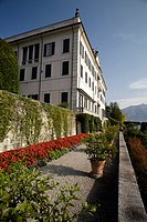 Aristocratic palace with terraces and gardens, botanic garden at Villa Carlotta, Tremezzo, Lake Como, Italy, Europe