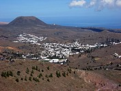 Haria valley, Lanzarote, Canary islands,Spain.