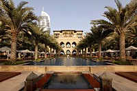 The Palace Hotel, Oldtown Dubai, Arabian-style luxury hotel, part of downtown Dubai, United Arab Emirates, Middle East