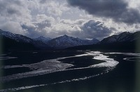 Photograph of a river in Alaska