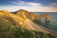 Durdle Door on the Juraasic Coast Dorset