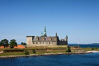 Kronborg Castle near Helsingor City, Denmark, Europe