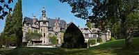 Rauischholzhausen Castle, Justus Liebig University Giessen, Rauischholzhausen, Ebsdorfergrund, Hesse, Germany, Europe