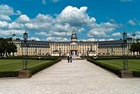 Karlsruhe Palace, Baden State Museum since 1921, Karlsruhe, Baden-Wuerttemberg, Germany, Europe