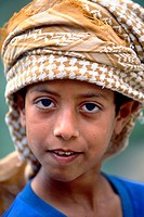 Omani girl, portrait, Oman.