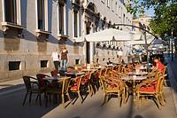 Flanaticka Street, Pula, Istria, Croatia, Europe
