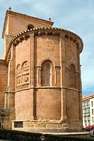 Apse of the Romanesque church of San Juan de Rabanera (12th century), Soria, Castilla-Leon, Spain