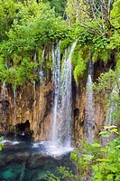 Waterfalls, Plitvicka Jezera, Plitvice Lakes National Park, Lika_Senj, Croatia, Europe