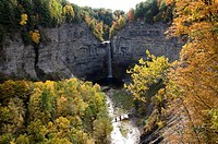 Taughannock Falls Finger Lakes Region New York Cayuga Lake near Ithaca