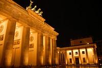 Nächtliches Brandenburger Tor3