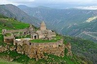 Tatev Monastery near Goris, Armenia, Asia