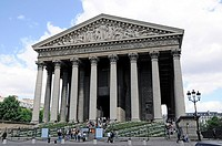 La Madeleine church, Paris, France, Europe