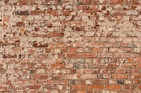 Old brick wall, background