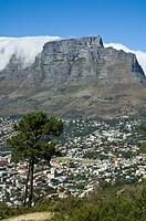 Table Mountain, view from Signal Hill, Cape Town, South Africa