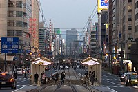 Avenue in Hiroshima, Japan