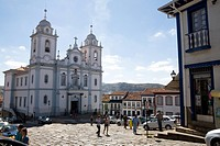 Mother Church, Santo Antônio, Diamantina, Minas Gerais, Brazil
