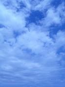 Blue sky, São Paulo, Brazil