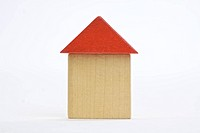 House made of building blocks