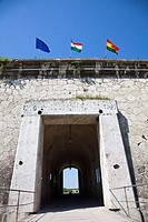 Fort Monostor in Komarom Monostori Eroed,Hungary  The fort was built from 1850 onwards  The main purpose for the up to 12000 soldiers was the defense ...
