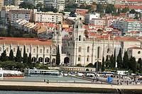 Mosteiro dos Jeronimos, Hieronymites Monastery, Late Gothic period, Belem, Lisbon, Portugal