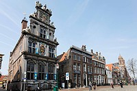 Historic house of the provincial administration, now West Frisian Museum, Roode Steen, Hoorn, Province of North Holland, Netherlands, Europe
