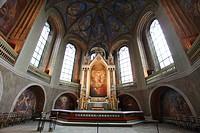 Finland, Region of Finland Proper, Western Finland, Turku, Unikankari Hill, Medieval Turku Cathedral, Interior, Altar