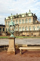 Zwinger Palace in Dresden, Germany, Saxony, Dresden