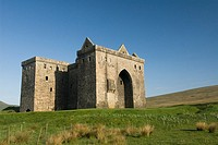 Hermitage Castle, 5 5 miles NE of Newcastleton, Scotland, UK