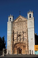 Main entrance of the San Pablo Church, Valladolid City, Castilla and Leon Region, Spain, Europe