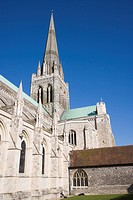 Chichester Cathedral, Sussex, England, United Kingdom